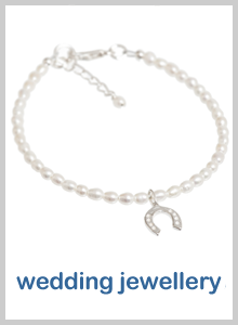 pearl wedding jewellery