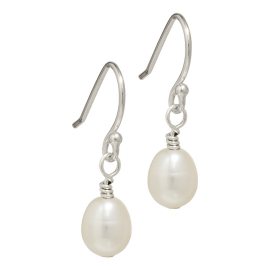 small freshwater pearl earrings
