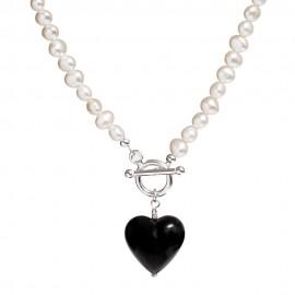 black Murano Glass necklace