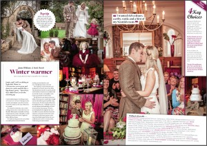 Biba & Rose jewellery featured in Cotswold Bride Magazine