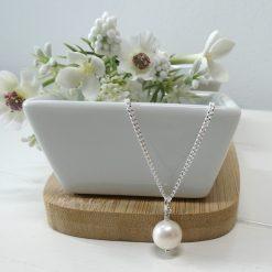Biba & Rose pearl pendant