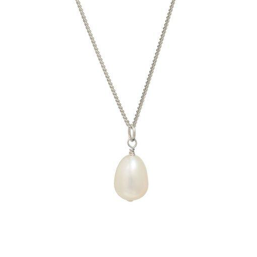 tear-drop pearl pendant