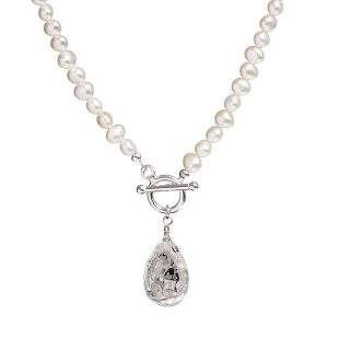 white-pearl-and-tear-drop-necklace