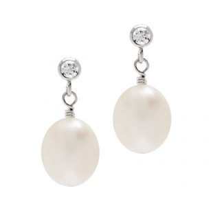 Crystal-and-Pearl-Earring