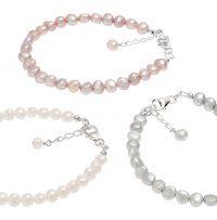 handmade freshwater pearl bracelets
