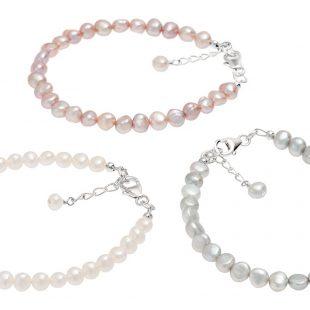 dainty freshwater pearl bracelets