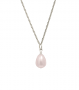 pink freshwater pearl pendant