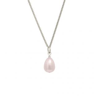 pink freshwater pearl pendant