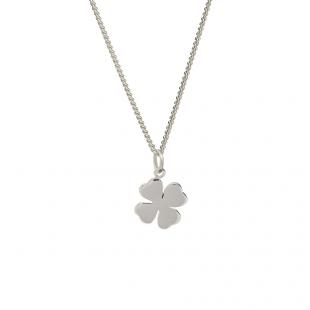 Silver Four Leaf Clover Pendant