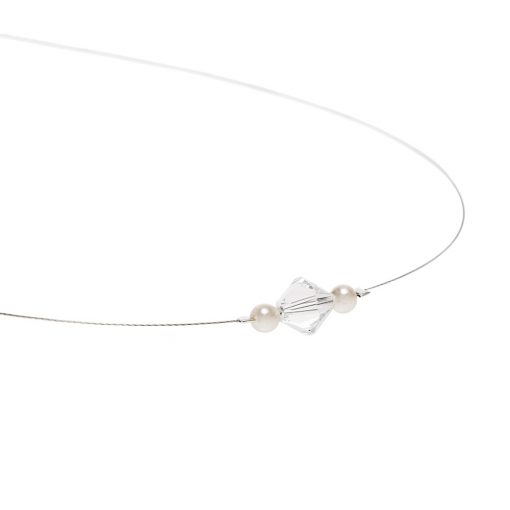 Swarovski Crustal Wire Necklace