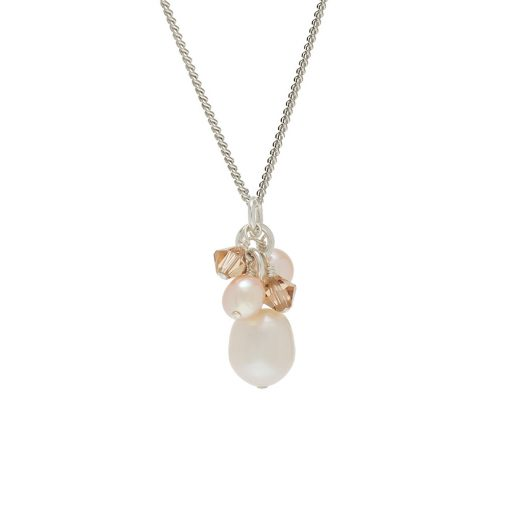 swarovski Crystal and Pearl Pendant