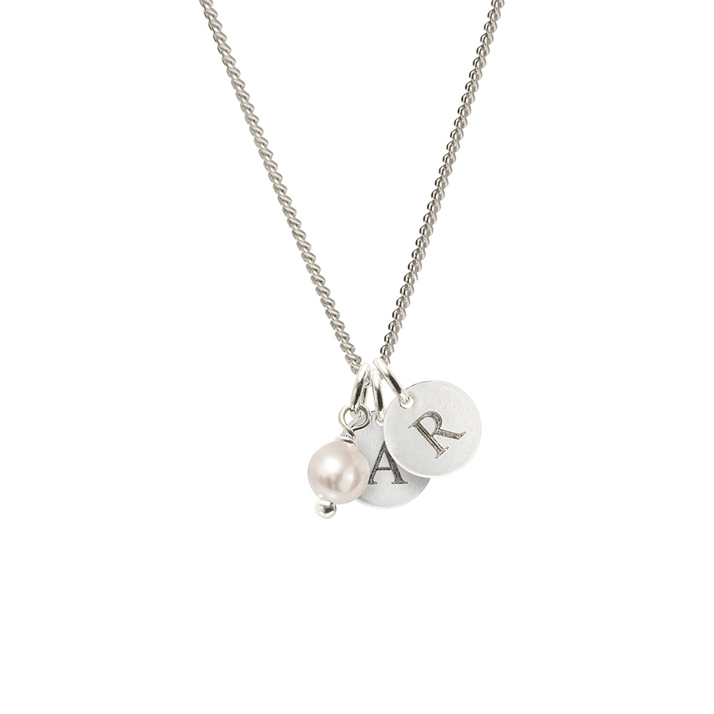 Personalised initials pendant engraved personalised pendant biba homesilver pendants personalised initials pendant aloadofball Image collections