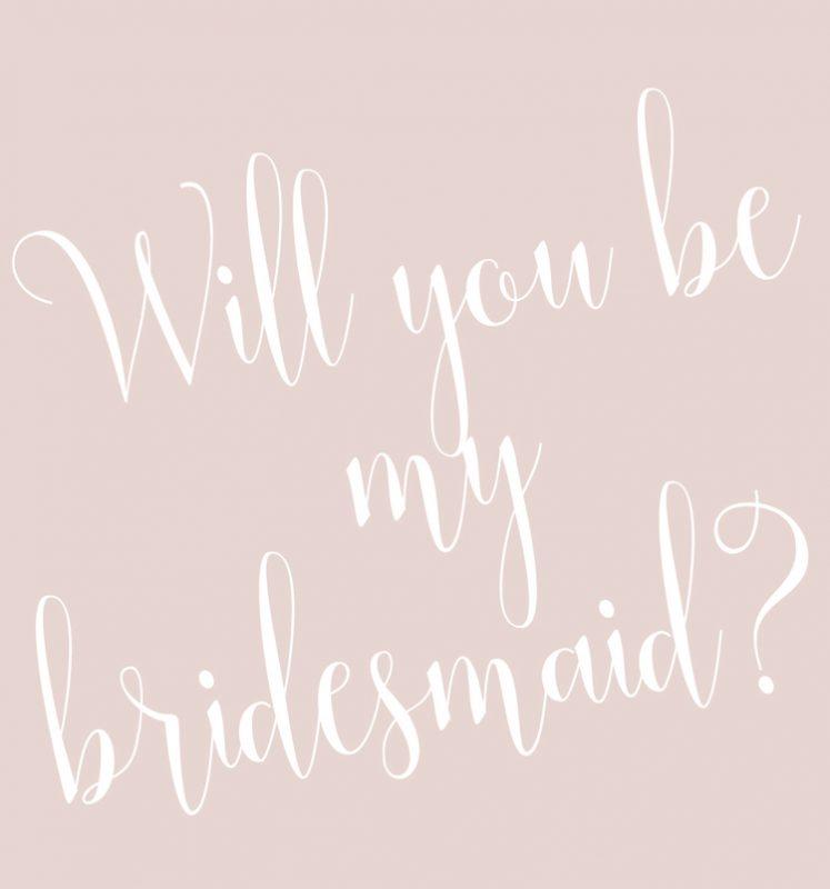 Biba & Rose bridesmaids gifts