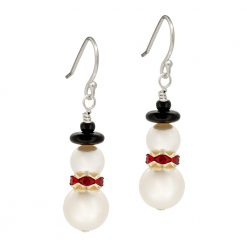 Festive Snowmen Earrings