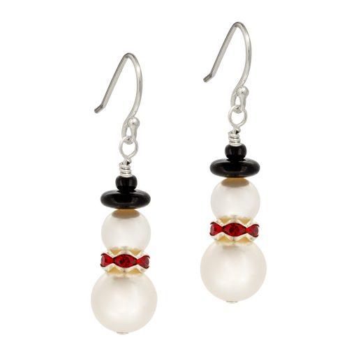 Festive Snowmen Earrings