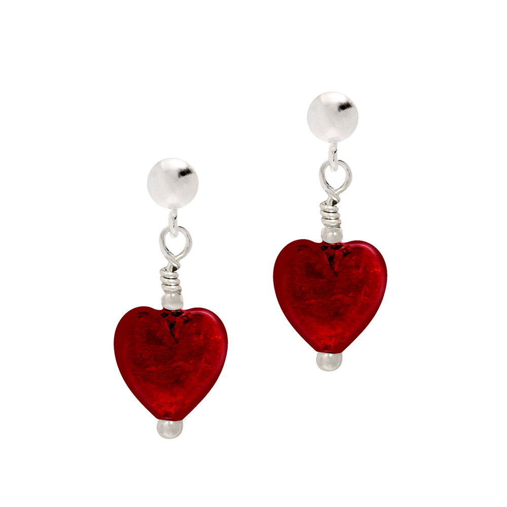 Biba & Rose Murano Glass earrings